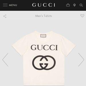 Gucci interlock T Shirt